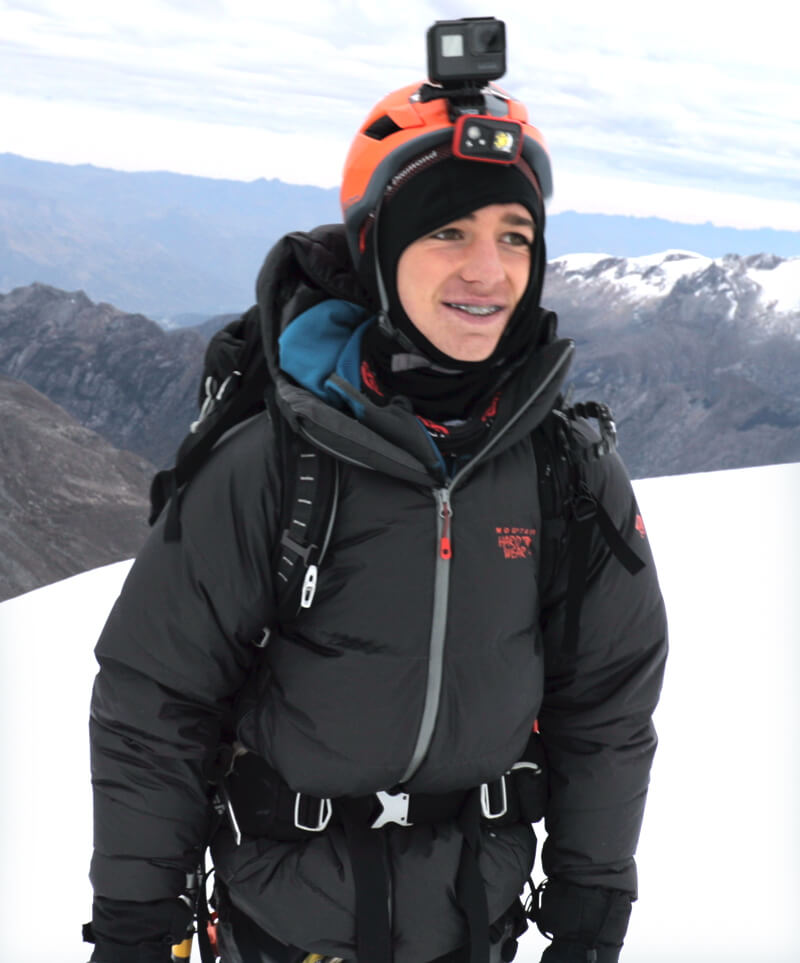 Tyler Armstrong Climbing